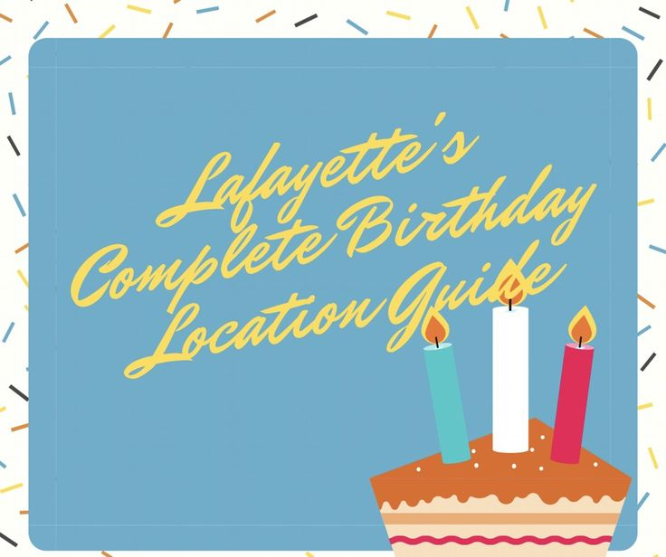It's that time of year again and the daunting task of finding the perfect Birthday party location is upon us. I found out a long time ago that it's easier having a party anywhere else but at home, and in the long run it's cheaper. So let's take a look at the most up to date list of Birthday party locations in Lafayette starting with my own recent experience... Chuck E. Cheese Prior to having kids there were two things I swore to never allow. I'd never have a Birthday ...