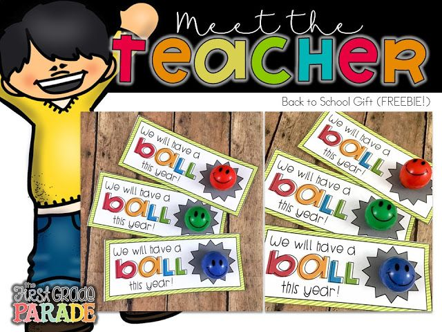 FREE Meet the Teacher Student Gift Tag Printables for Back to School!