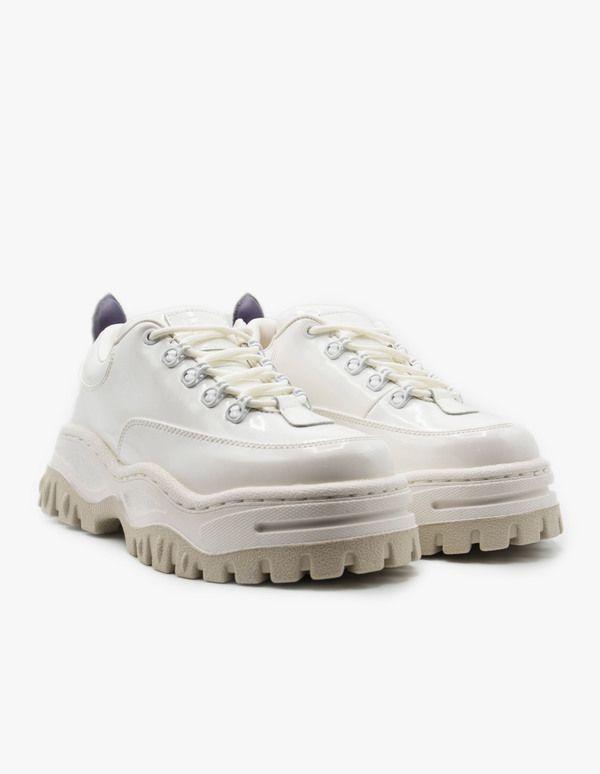 Eytys Angel Patent White - White on
