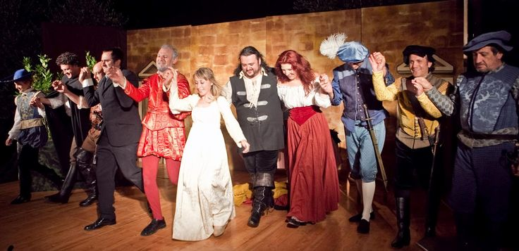 Verdi's Rigoletto at our summer festival in Monteriggioni