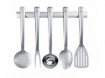 Zestaw pięciu akcesoriów BRABANTIA S-Line - srebrne