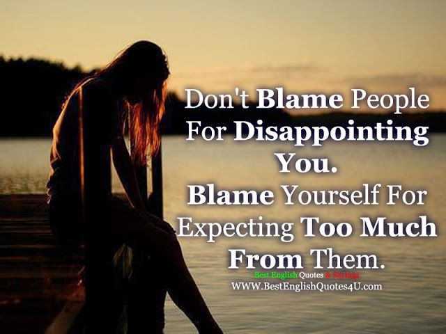 Best'English'Quotes'&'Sayings - Disappointments