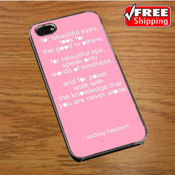 Audrey Hepburn bubble gum IPHONE 4 | 4S COVER CASE