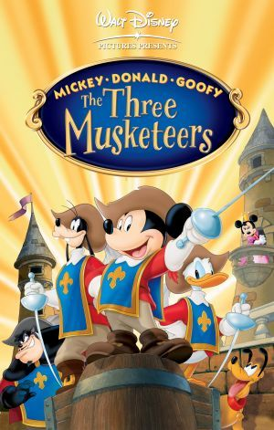 The Three Musketeers (Mickey, Donald and Goofy) - 1993