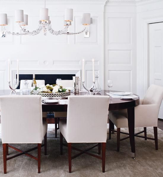 18 Best Dining Room French Modern Images On Pinterest  Dining Impressive White Oval Dining Room Table Design Inspiration
