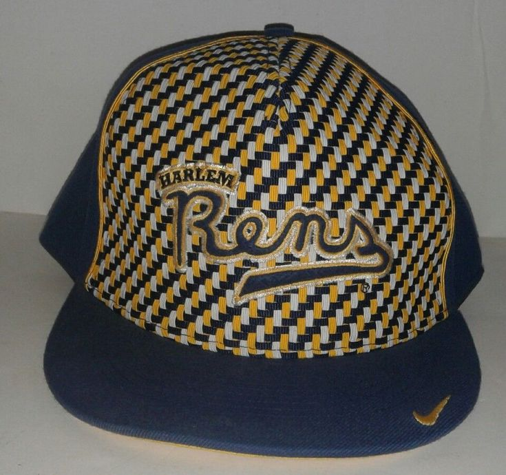 Collectible NIKE Black Fives HARLEM RENS Snapback Hat 7 3/4 | eBay