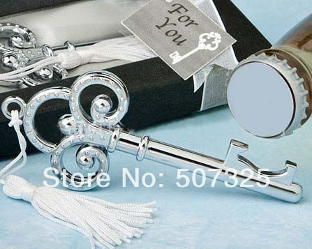 100PCS/Lot, Fashion KEY Wine Bottle Opener Favor Metal Wine Openers Wedding Souvenirs Gifts, Factory Price-in Event & Party Supplies from Home & Garden on Aliexpress.com | Alibaba Group