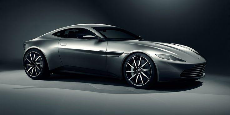 #Aston #Martin DB10 Caught at James Bond Spectre Movie Shooting