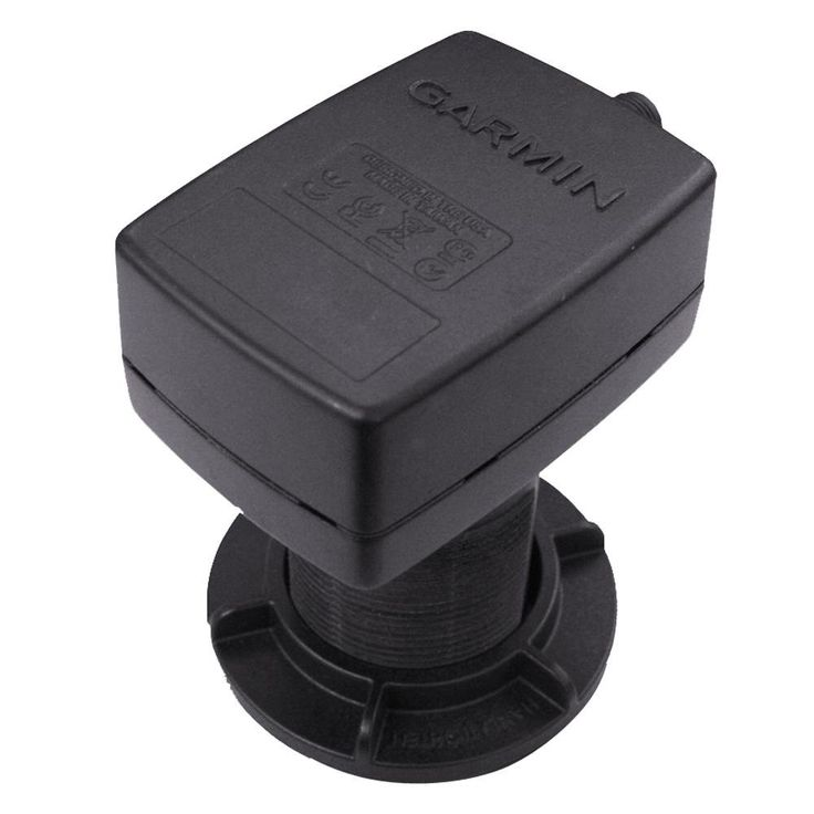 Garmin Intelliducer, thru-hull, Depth, Temp, 0-12deg deadrise, 30ft, NMEA 0183