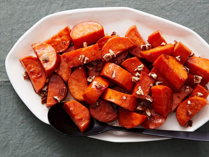Classic Candied Yams : With just the right amount of sweetness and spice, these sweet potatoes are cooked on the stovetop until they are tender, freeing up valuable oven space at your holiday meal.