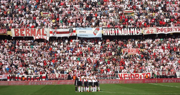 @River las gallinas en el estadio Monumental de Nuñez #9ine