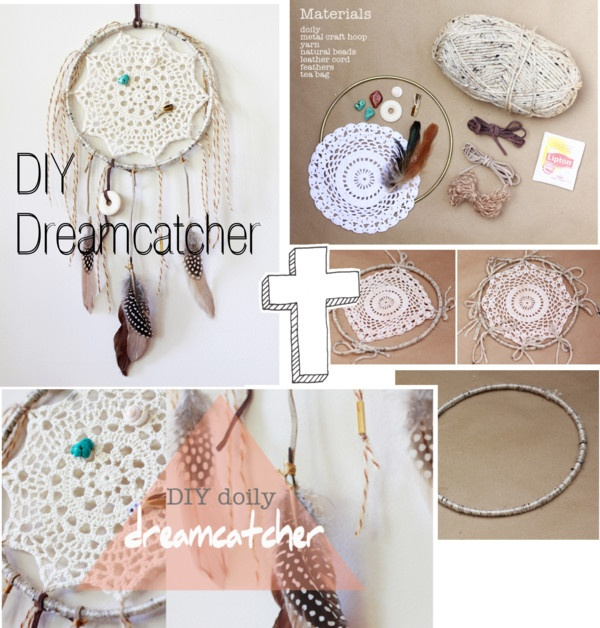 """""""DIY Dreamcatcher"""" by the-hipster-tip-sisters ❤ liked on Polyvore"""