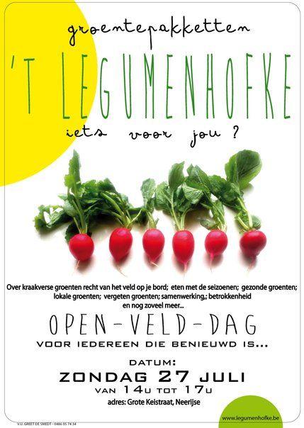 infomoment Open Veld Dag - misschien wel leuk!!