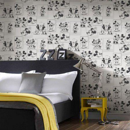 Tapeta na zeď Graham and Brown - 102712 #style #home #wallart #inspirace # #waterproof #cover #útulné #mickeymouse