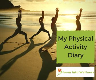 My Physical Activity Diary- Want to keep track of how much physical activity you are getting into your week? Get your FREE Physical Activity Diary.
