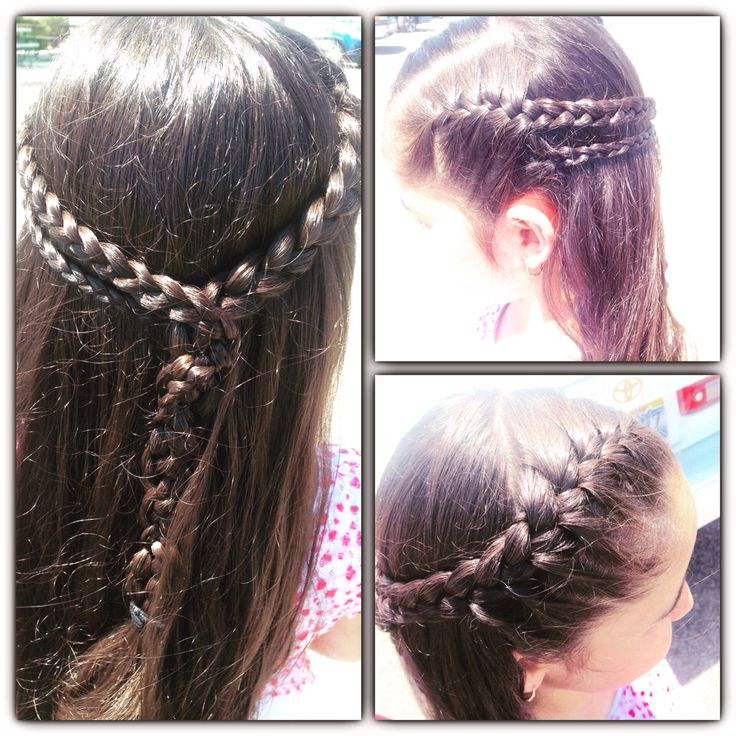 Hairstyles For 5th Grade : 17 best images about my hair styles!!! on pinterest updo easy