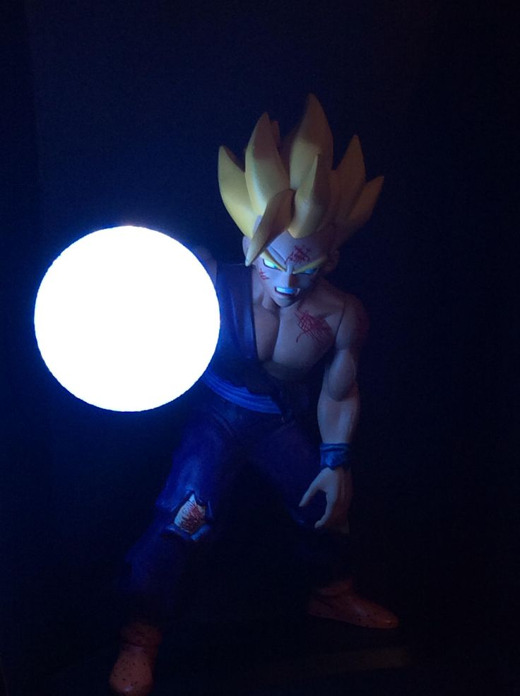 Amazing Gohan at the Cell Games lamp. #DBZ #Kamehameha ...