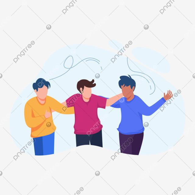 best friends walking together flat illustration concept together concept flat png and vector with transparent background for free download in 2020 cartoon character design character design illustration flat illustration concept