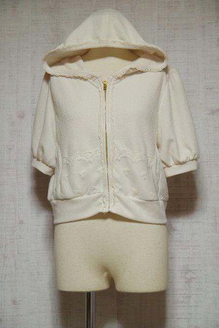 215980a8e LIZ LISA Short Sleeve Hoodie Japanese Style Fashion Lolita Kawaii Dreamy 04  #LIZLISA #Hoodie