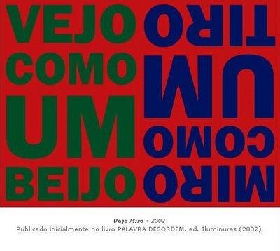 Arnaldo Antunes - Poesia Visual - Palavra Desordem