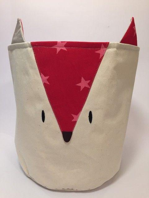 Cesto Fox Rojo