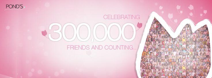 #Celebrating 300,000 #Friends on Facebook!