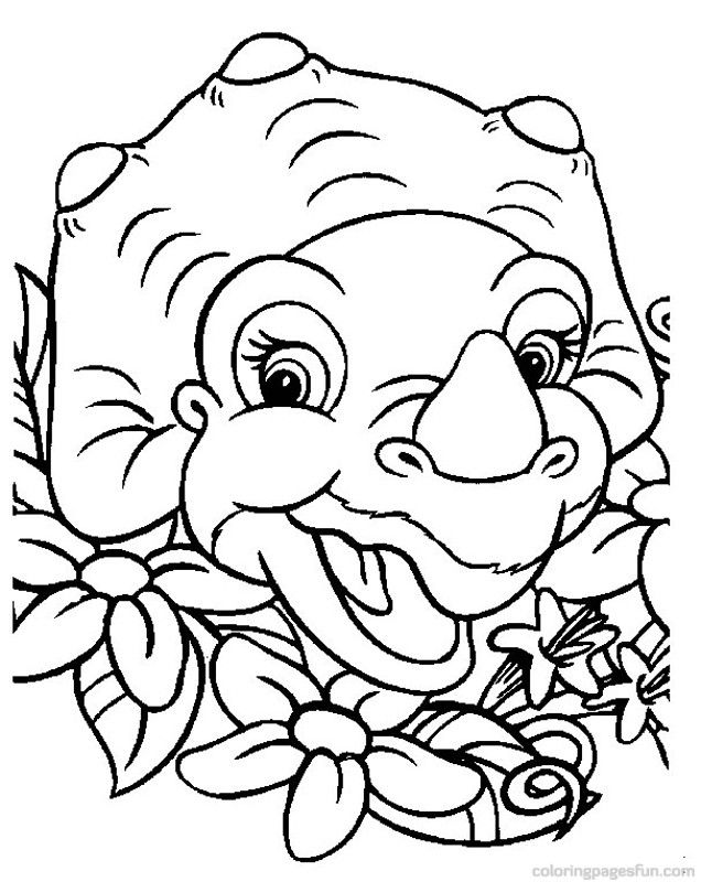 14 best coloring pages 34 (dino) images on Pinterest | Coloring ...