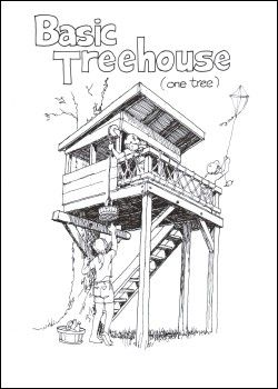 Exellent Tree House Blueprints Plans Books And Other Sources To Design Decorating
