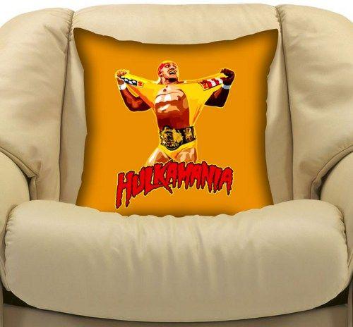 Wwe Smackdown Hulk Hogan Hulkmania Double Side Cushion Pillow Case