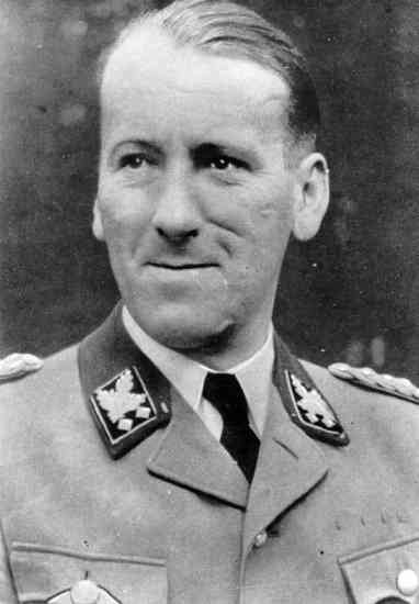 """Obergruppenführer-SS and ,Holder of"""" The Blood Order"""" Ernst Kaltenbrunner (4 October 1903 – 16 October 1946) was an Austrian-born senior official of Nazi Germany during World War II. Between January 1943 and May 1945, he held the offices of Chief of the Reichssicherheitshauptamt (RSHA, Reich Main Security Office), President of Interpol and, as a SS-Obergruppenführer und General der Polizei und Waffen-SS, he was the highest-ranking Schutzstaffel (SS) leader to face show trial at t Nuremberg…"""