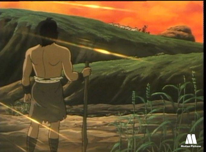 Cain es agricultor, Cain y Abel, dibujos de la biblia para niños