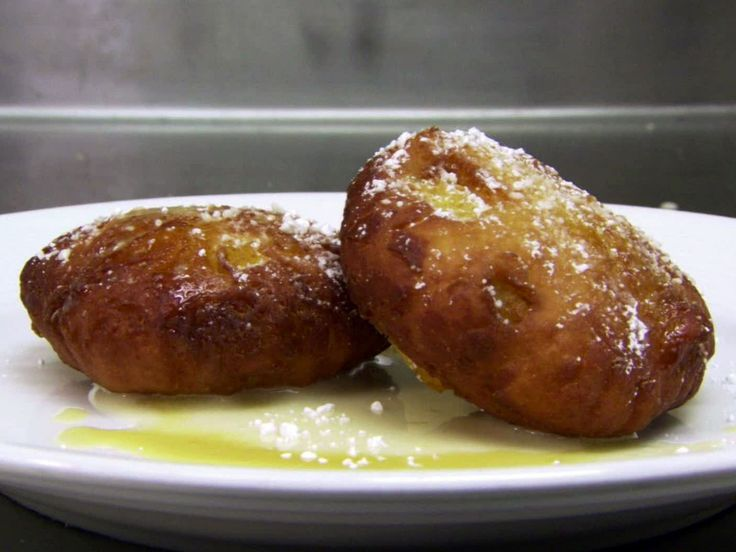 Apple Fritters recipe from Robert Irvine via Food Network