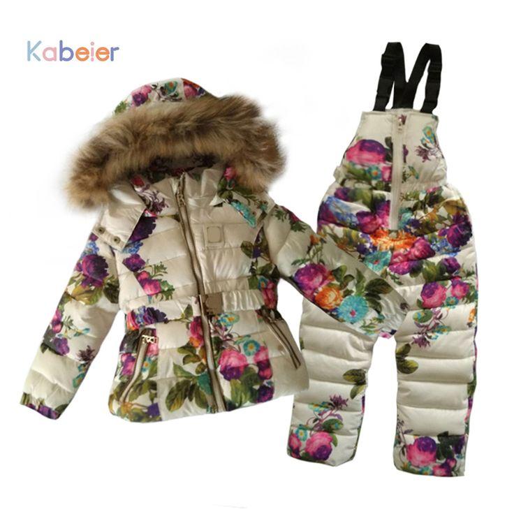 Kinderen Meisjes Jas Sneeuw Kleding Jas Merk 2016 Winter Hooded Print Rompertjes Met Riem Overalls Peuter Meisje Kid Kleding in de kleding ishoge qulity, voor 2-7 jaar meisje slijtage in winter. het is nieuwe stijl. I hoop u kunt als het.nadat u van op AliExpress.com | Alibaba Groep
