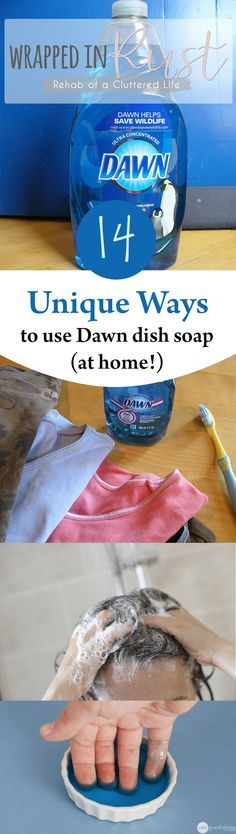 What are some good uses for Dawn dish soap?