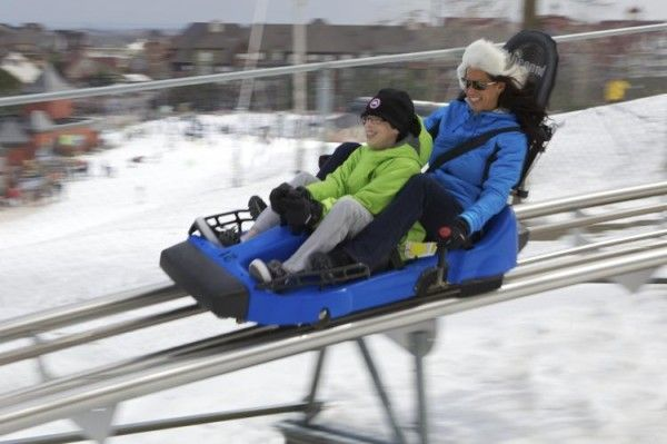 Ridge Runner Mountain Coaster at Blue Mountain Resort in Collingwood Ontario
