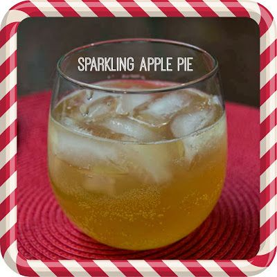 Adorned From Above: Sparkling Apple Pie for Friday's Happy Hour