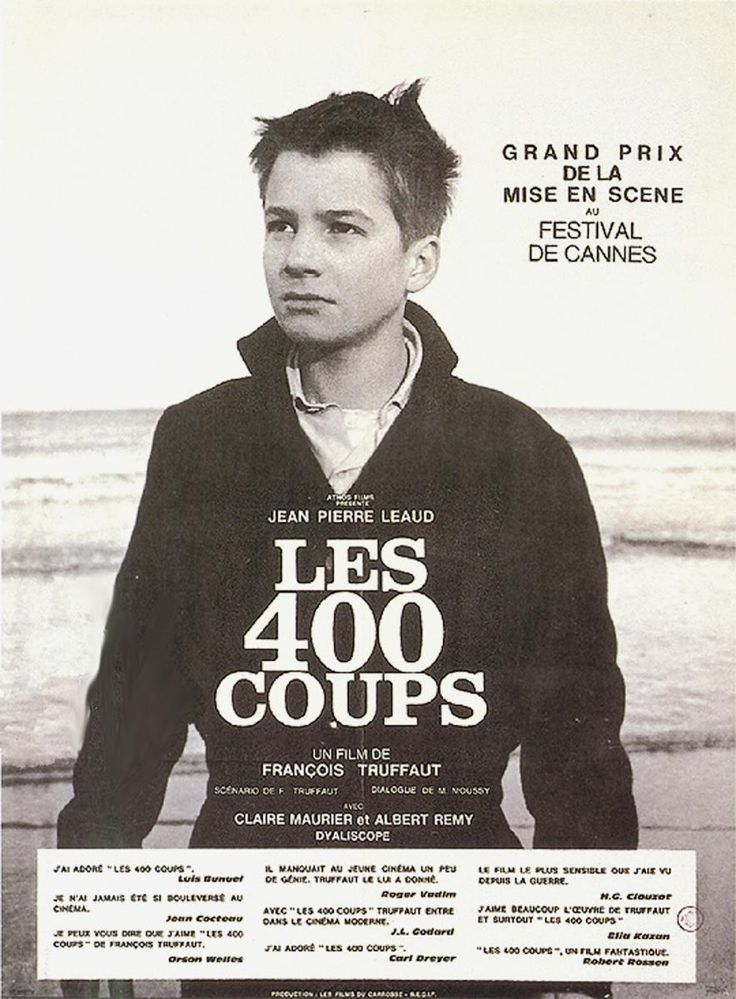 Los cuatrocientos golpes (Los 400 golpes) (1959) - FilmAffinity