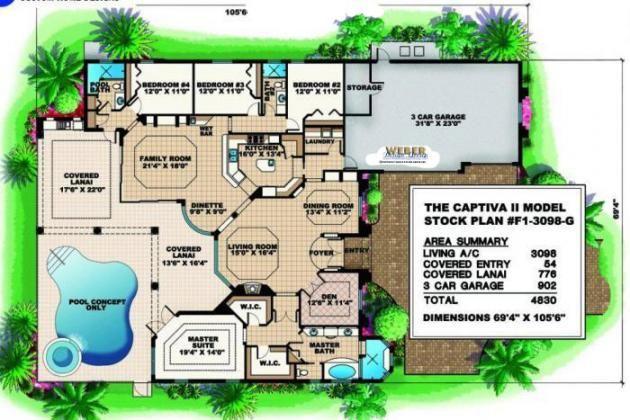 Captiva II Home Plan
