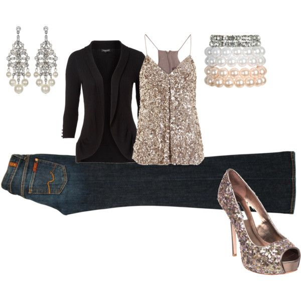 Love this/New Year's eve outfit :)