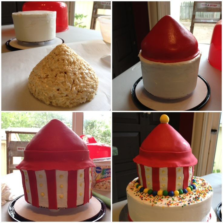 how to make rice crispy structures fondant