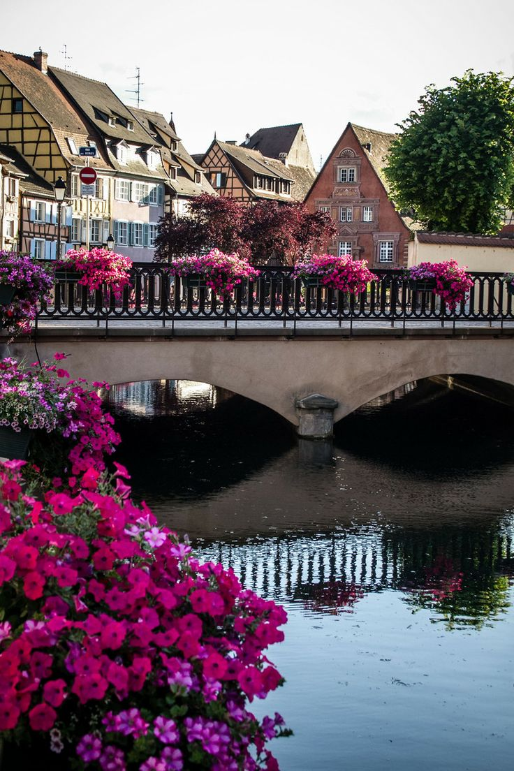 "Colmar, Alsace, France. ""Capital of Alsatian wine."" The Colmar Treasure, precious objects hidden by Jews during the Black Death 1348-50, was discovered in 1863."