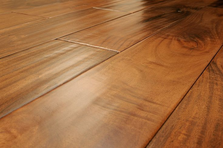 A little peek at what we picked for the kitchen floor!  Acacia hand scraped.