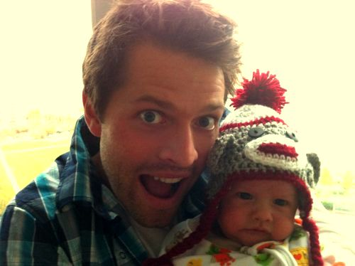 Misha and West Collins. Excuse me while I squee at this cuteness!