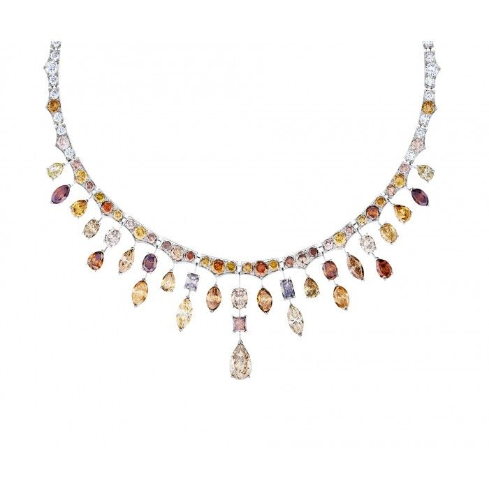De Beers Phenomena Frost Sunset Necklace J4PH26Z00W | De Beers