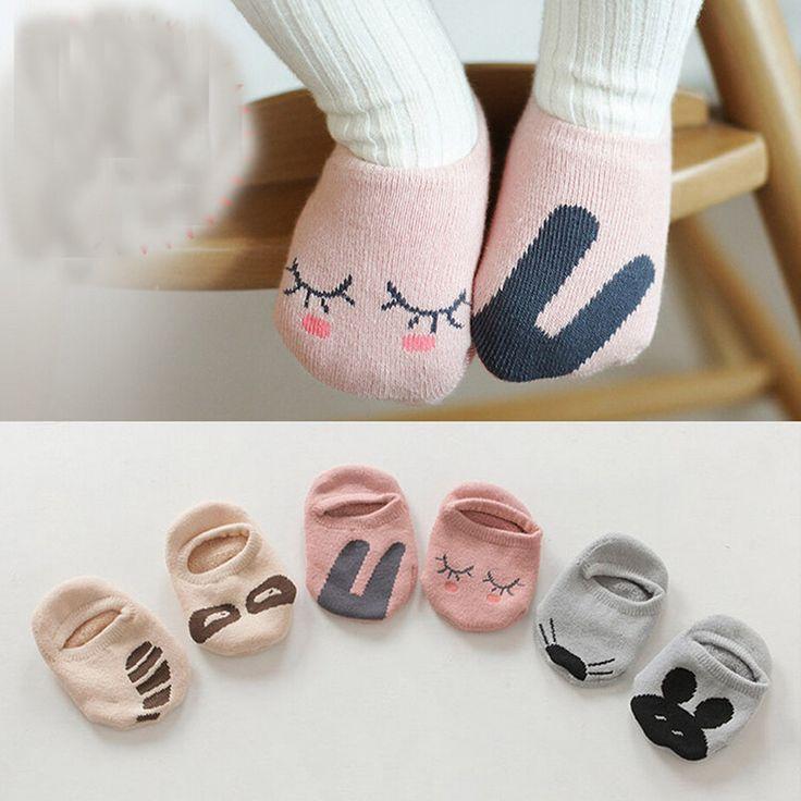 Unisex Baby socks floor sock baby boys socks girls kids Children cutu animal rabbit rat bear pattern socks cotton //Price: €1.1 & FREE Shipping //   #fashion #baby #clothes #trendy #2017