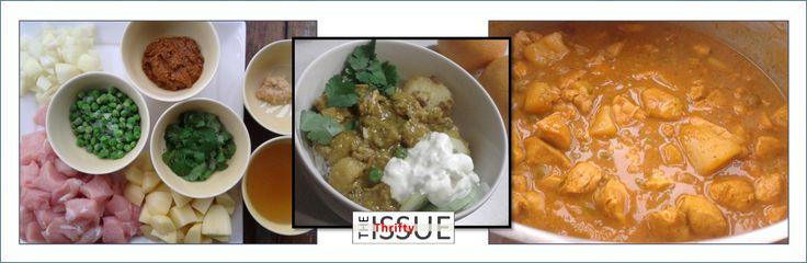 Slow Cooked Chicken Korma