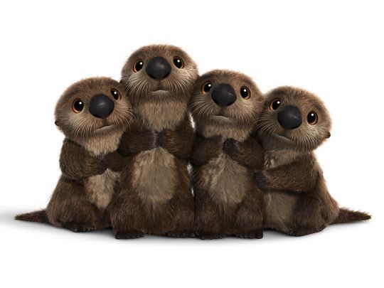 New Finding Dory Character Photos: Loons, Otters & More