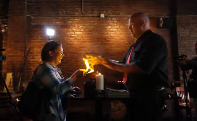 A Harry Potter Wedding Proposal (Video) not for me. @JeffandVita Clawson R.  a certain boy should take some notes