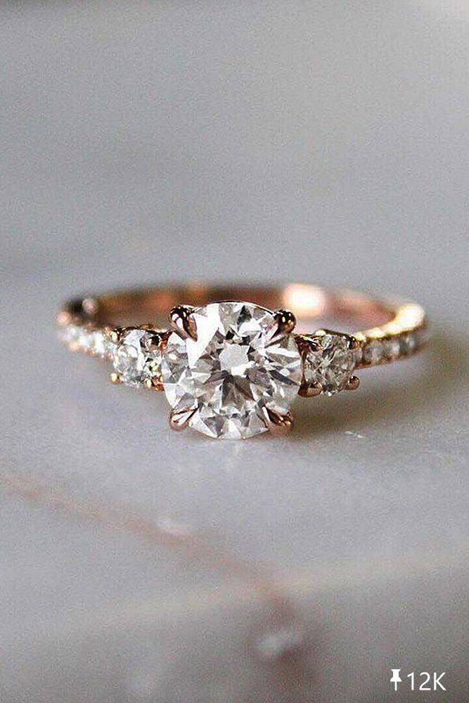 21 Rose Gold Engagement Rings from Famous Jewelers