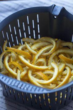 Cómo preparar piel de naranja confitada con Thermomix « Trucos de cocina Thermomix